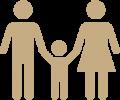 obrazek rodziny z dzieckiem